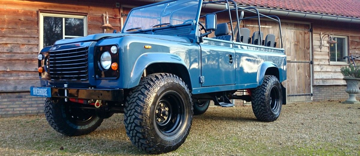 Land Rover Defender With A Twin Turbo 200 Tdi Diesel Inline Four