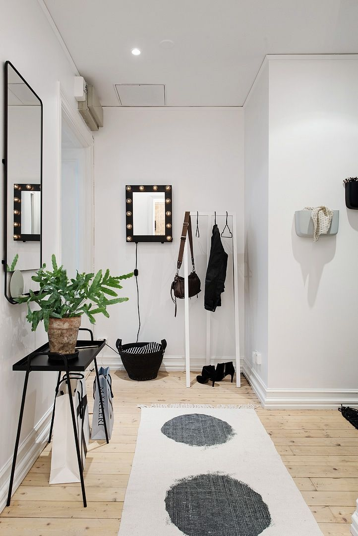 Spectacular small apartment in Sweden with an amazing layout ...