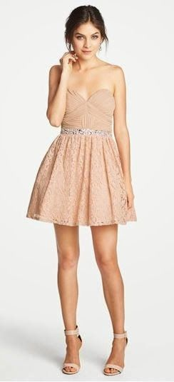 Mini skirt party dress