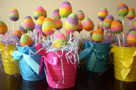 Natalie's Easter Egg Cake Pops