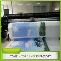 solvent printing on fabric konica 512 inkjet Digital printing eco solvent with 8pcs KONICA 14/42pl printheads, 1440DPI