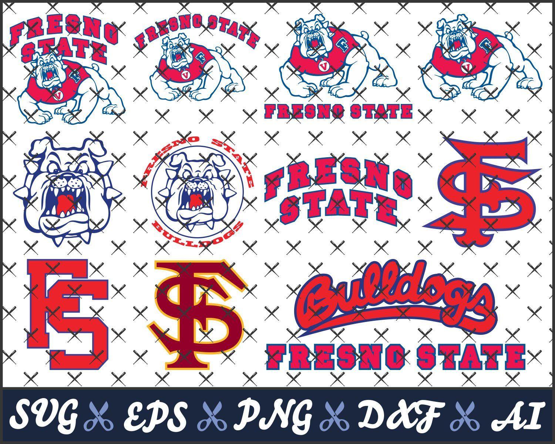 Fresno State Bulldogs, College logos, svg files for cricut