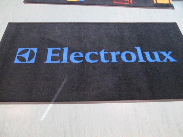 Logomatto Electrolux: http://www.promostar.fi/logomatto_omalla_kuvalla