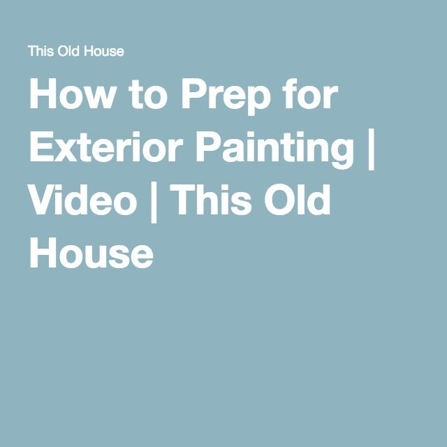 Gainesville How To Prep For Exterior Painting