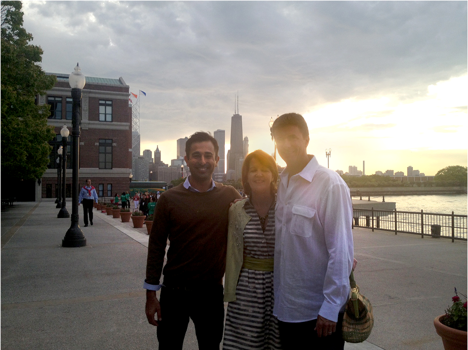 Our Elite Team Travis Hodge, Carol Lynch and CEO Kelly Foy at AIBTM 2013 in Chicago