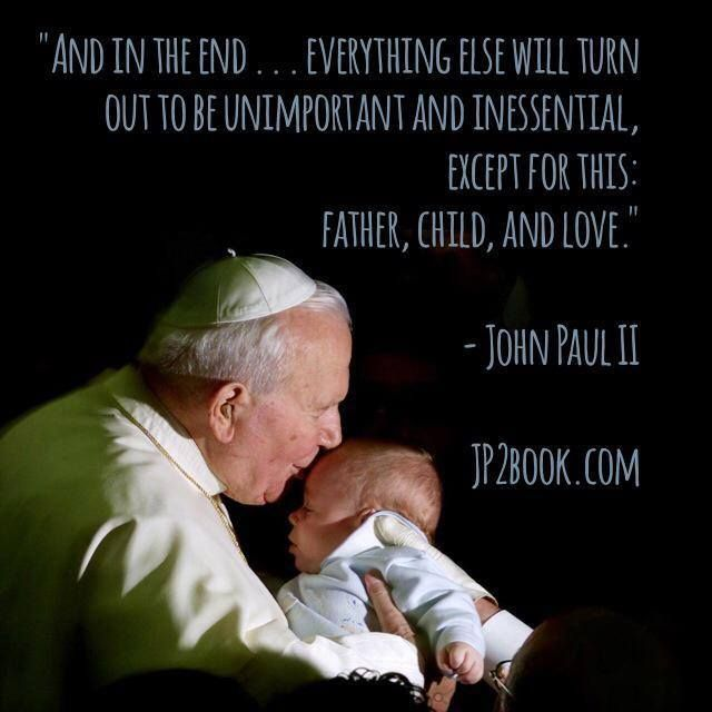 In The Words Of St John Paul Ii Christmas Christmas Quotes