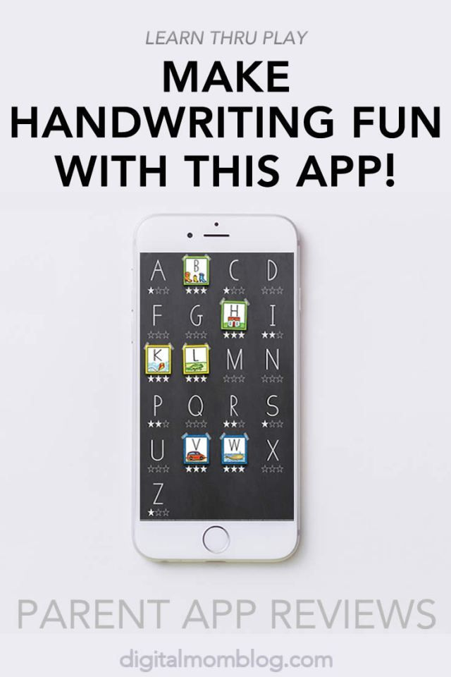 Handwriting Without Tears App Wet Dry Try Handwriting