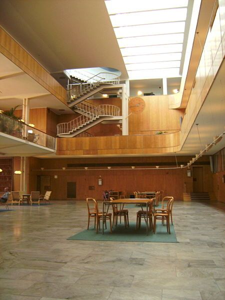 Gothenburg's City Hall - Gunnar Asplund, Architect | MODERNITS