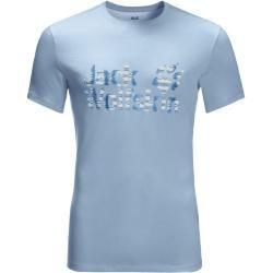 Photo of Jack Wolfskin T-Shirt Herren Logo Ocean T-Shirt Herren Xxxl blau Jack Wolfskin