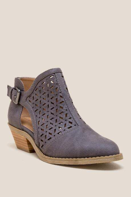 563c0228cfeb Report Deena Side Chop Out Ankle Boot - Blue
