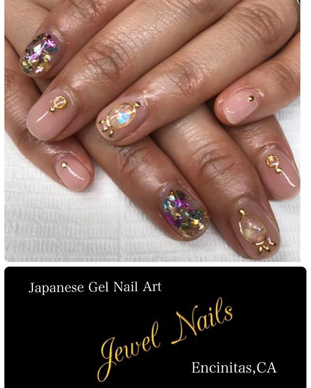 Jewel Nails 💅 Coming soon Encinitas,CA. (Moon light beach ...