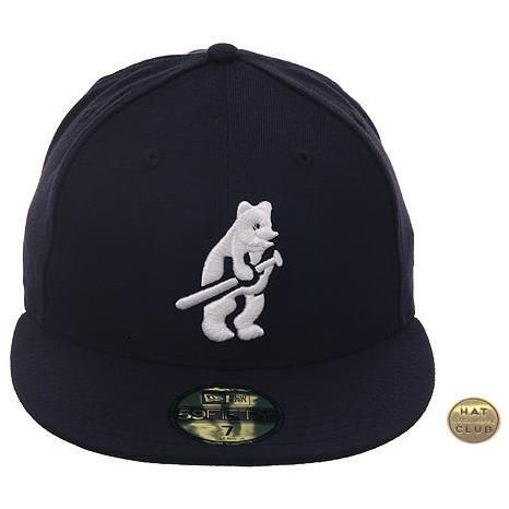 51e54f6bd58 Exclusive New Era 59Fifty Chicago Cubs 1914 Hat - Navy