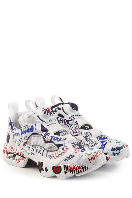 64fab4daf9fc1f X Reebok Graffiti Instapump Fury Sneakers | Vetements | shoes in ...