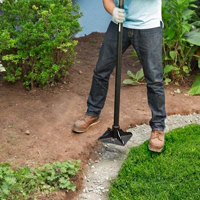 How To Edge A Garden Bed With Brick Brick Garden Edging Brick Garden Garden Edging