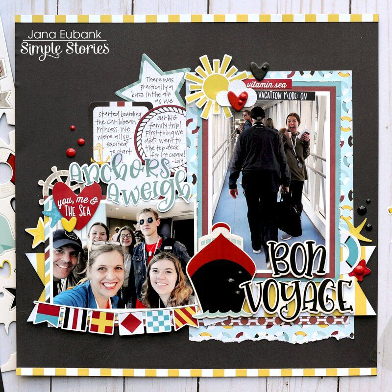 Just Cruisin by Scrapbook Page Kit