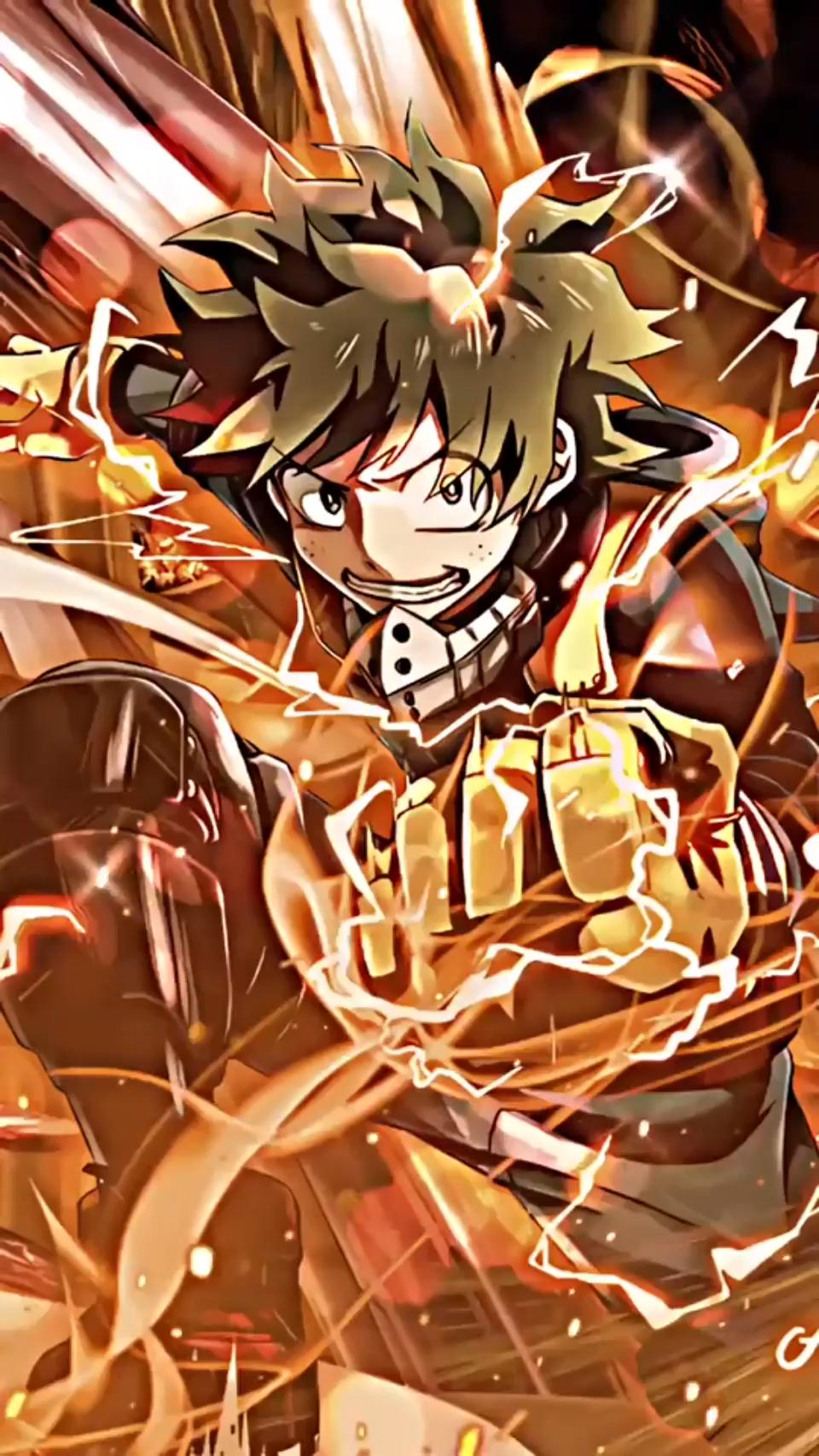 Izuku Midoriya Deku Boku No Hero Live Wallpaper Video Anime Deku Boku No Hero Hero Wallpaper