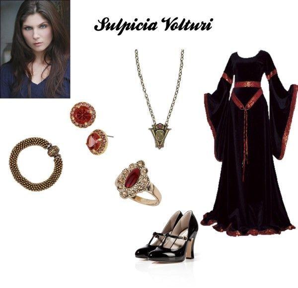 Sulpicia Volturi by michi-bruce on Polyvore