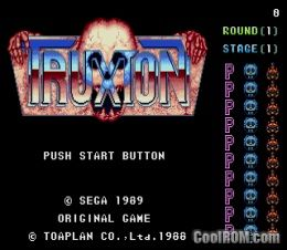 Truxton ROM Download for Sega Genesis - CoolROM com | Sega Genesis