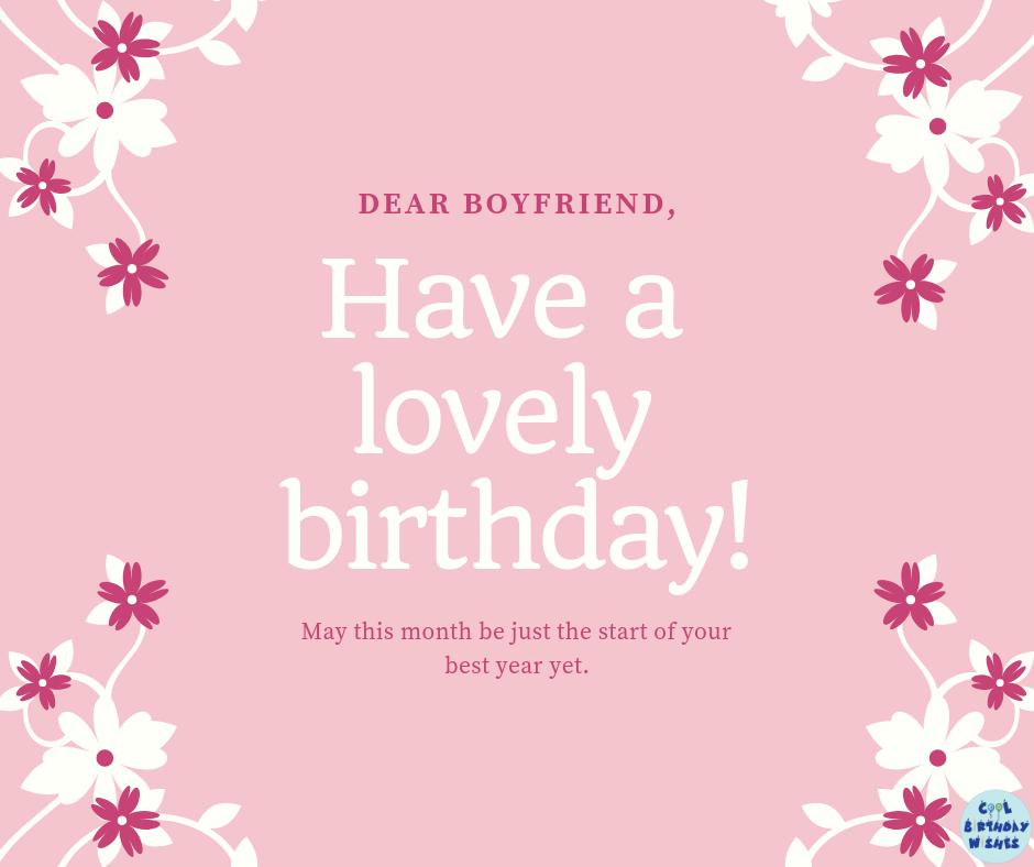 57+ Happy Birthday Wishes for Boyfriend Birthday wishes