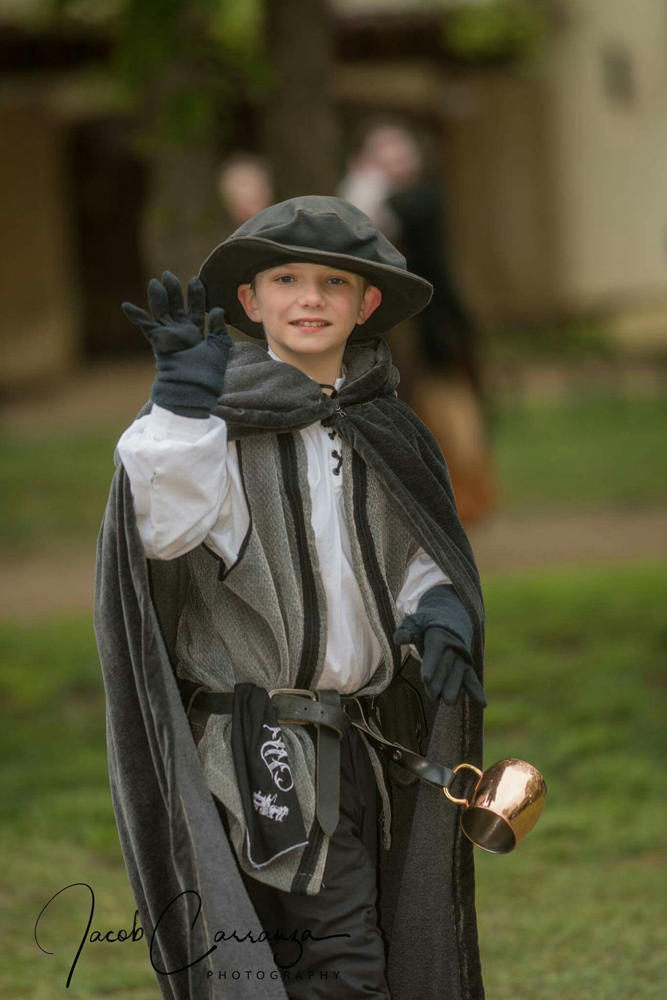 Scarborough Fair Renaissance Festival costume for boy