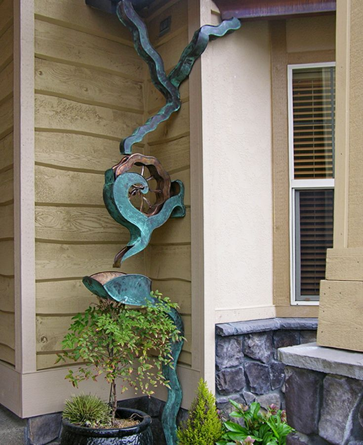 Musical Rain Gutter Downspouts Google Search Downspout