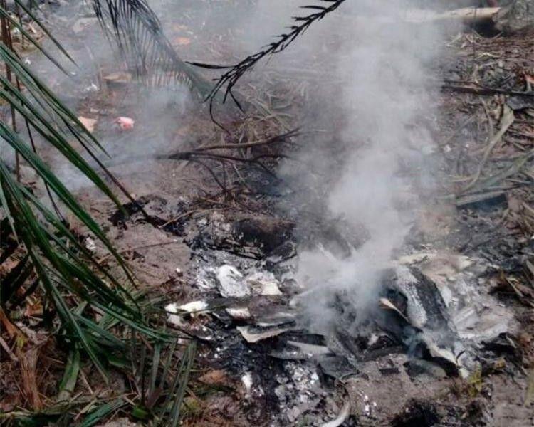 Aeronave cai em Manaus e deixa cinco mortos