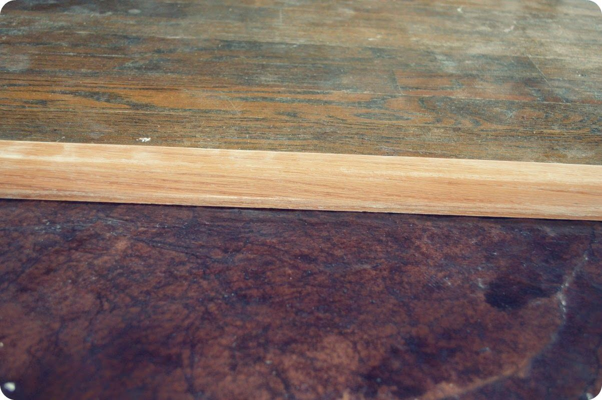 mrs do it herself  diy  how to install a transition for