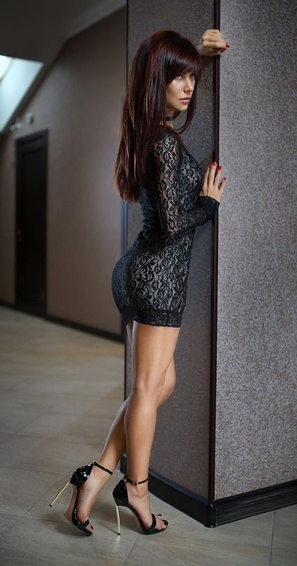 Tight dress high heels tumblr
