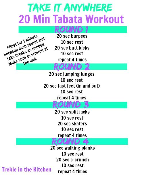 Quick Strategies In Strength Training Uncovered: Take It Anywhere Tabata Workout