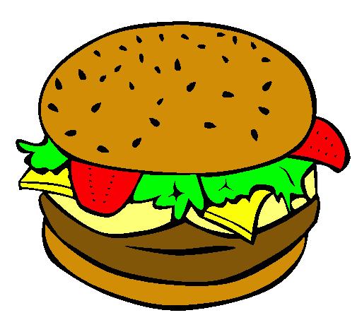 Envases Fastfood Comida Rapida Www Puntoquimico Com Hamburguesas Desenho Lanches Png