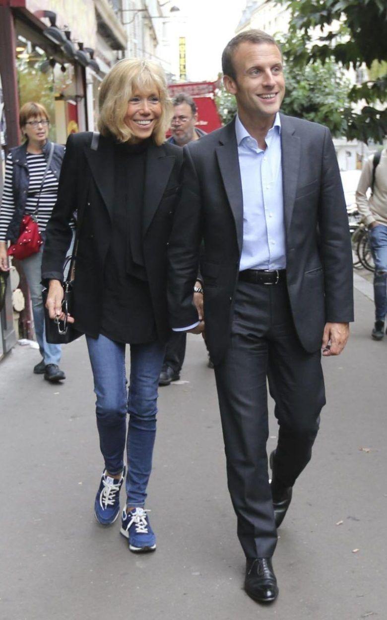 A Historia De Amor De Brigitte E Emmanuel Macron Ideias Fashion Roupas Das Celebridades Looks