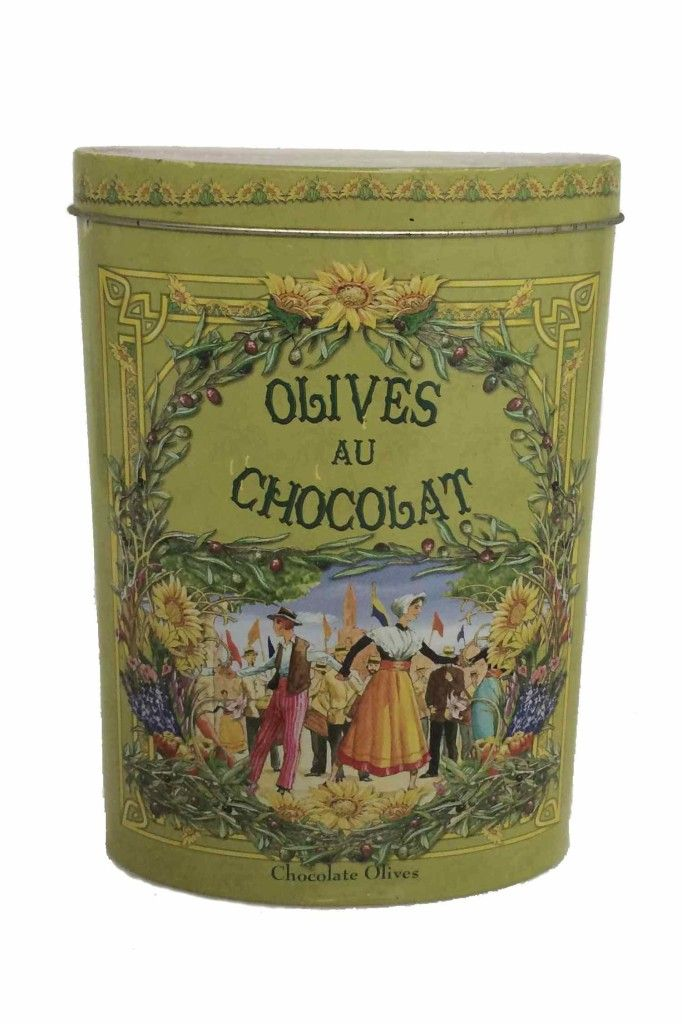 Bote de chocolate Tin chocolate