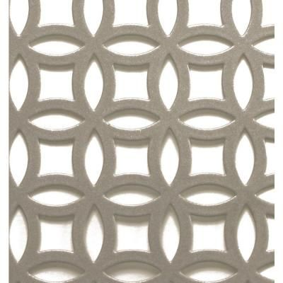 M D Building Products 1 Ft X 2 Ft Satin Nick Elliptical Aluminum Sheet 57010 The Home Depot In 2020 Decorative Metal Sheets M D Building Products Decorative Sheets