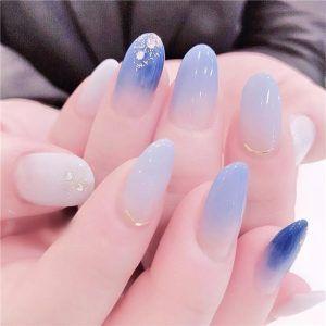 45 Bright Summer Nail Art Design Trends On 2019 Bridal Nail Art Star Nail Art Solid Color Nails