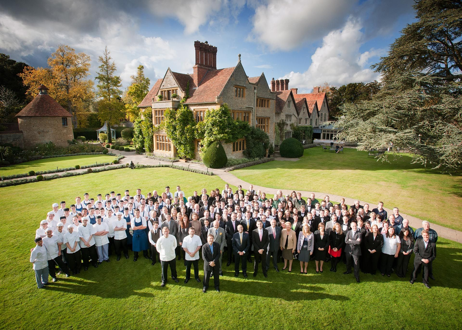 The Le Manoir family- 2012