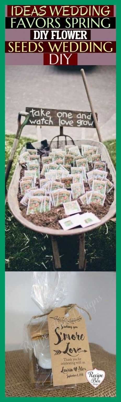 Photo of Ideas Wedding Favors Spring Diy Flower Seeds Wedding Diy * #…