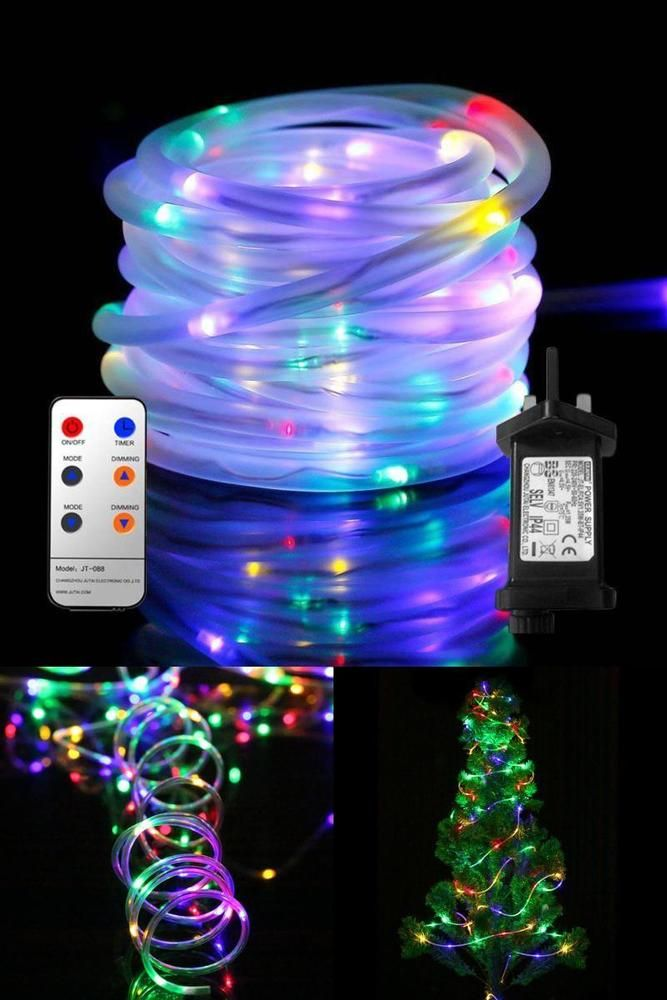 Outdoor led rope lights waterproof string lights with remote timer outdoor led rope lights waterproof string lights with remote timer strip lights aloadofball Images