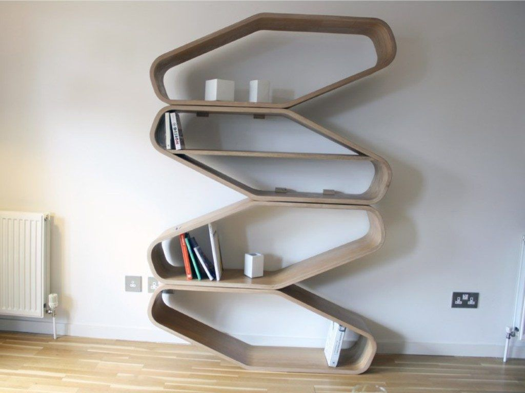 10 Unique Bookshelves That Will Blow Your Mind Unique Bookshelves Contemporary Shelving Modern Bookshelf