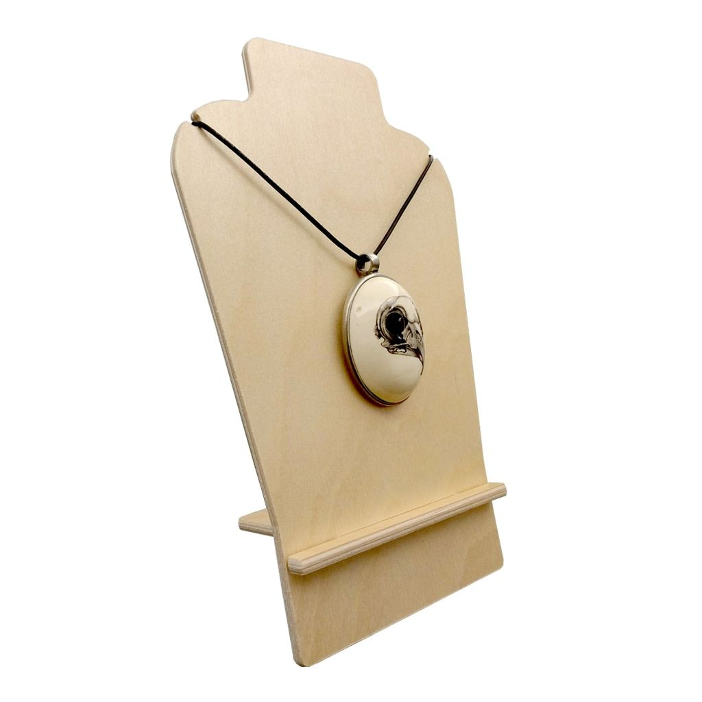 necklace easel  birch display 4750 new product  clear