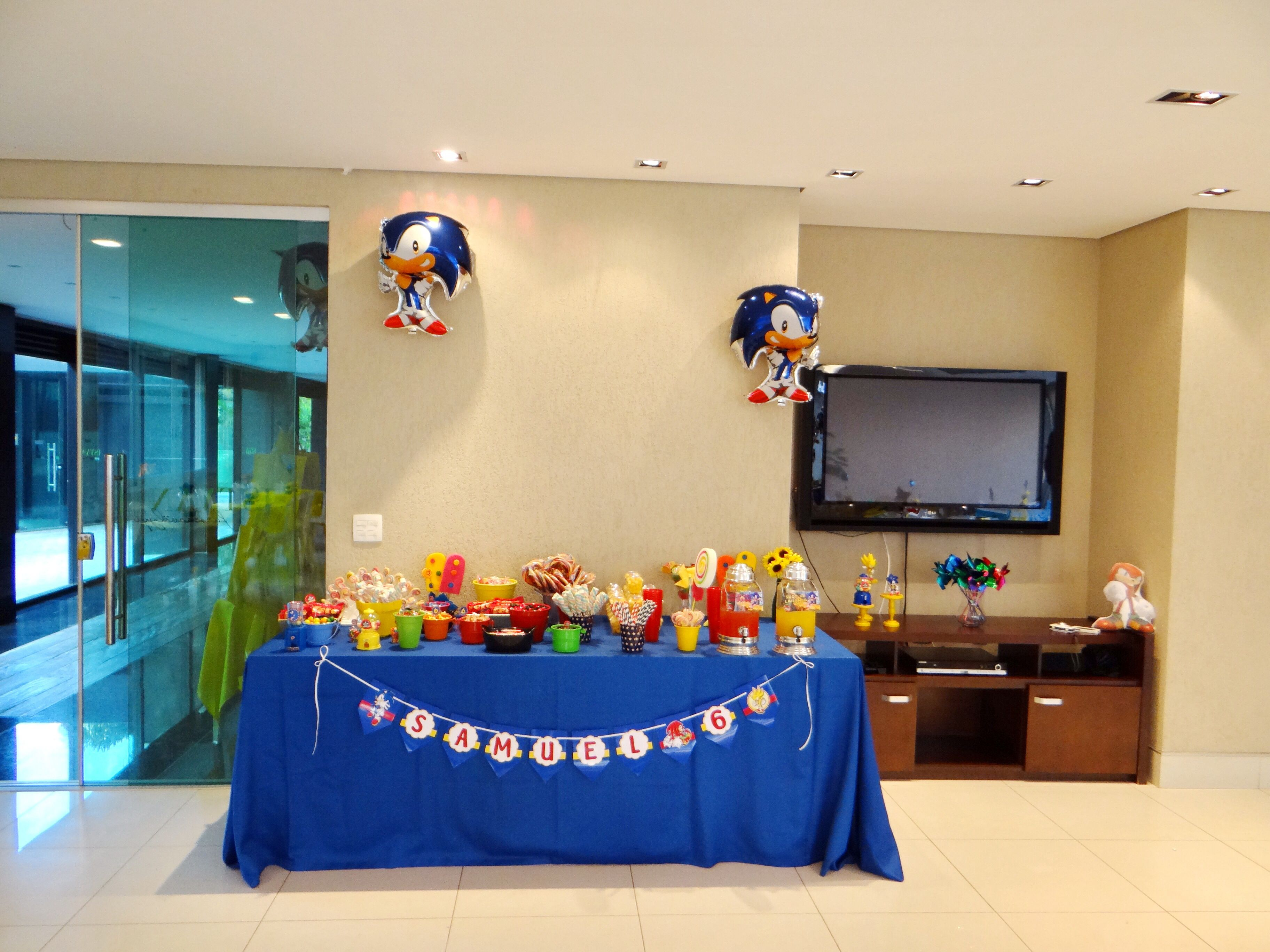 Festa Sonic | Mario & Sonic parties | Pinterest | Sonic party