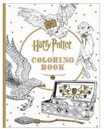 Harry Potter Postcard Coloring Book #coloring-book #harr #harry ...