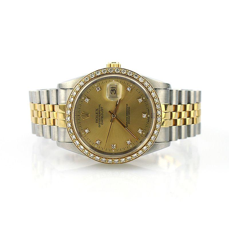 Rolex Datejust Oyster Perpetual Diamond