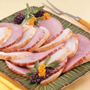 "Brazilian-Syle Turkey with Ham Recipe -Grilled is a different and fun way to prepare whole turkey. My mom has served this main dish for special occasions, ""Christmas in July"" and weddings at her home."