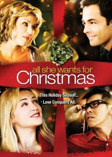 All She Wants For Christmas Tv Movie 2006 Christmas Movies Holiday Movie Christmas Dvd