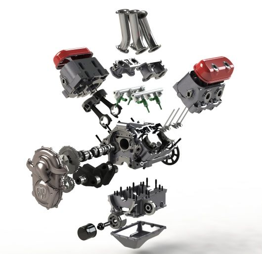 Types Of Motorcycle Engines: The First GDI (gasoline Direct