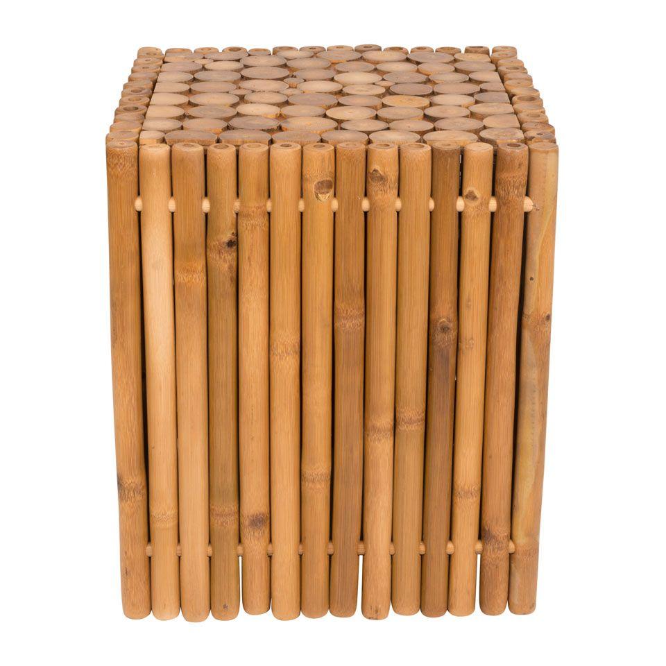 bamboe bijzettafeltje xenos