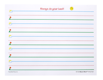 Pre-K Handwriting Paper | Writing paper, Start writing