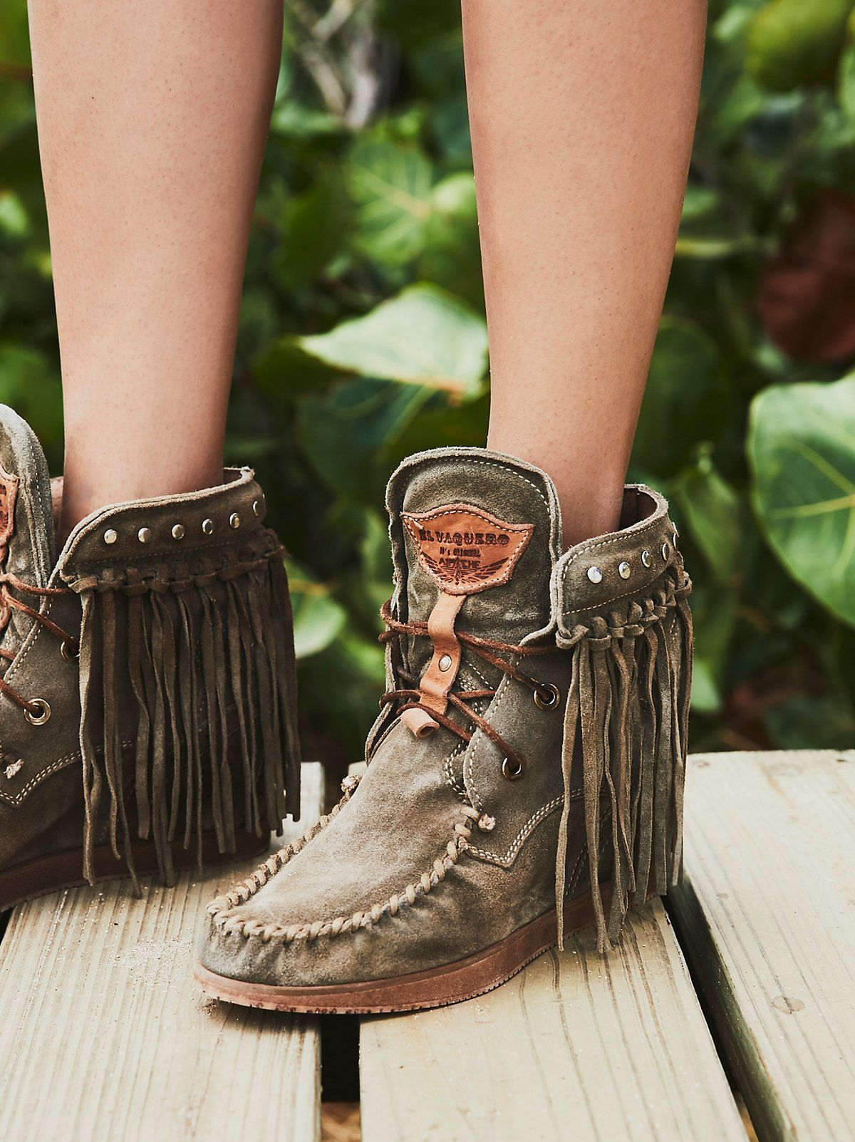 Womens Tassels Hidden Wedge Heel Bohemia Pull On Ankle Boots Shoes Plus Size