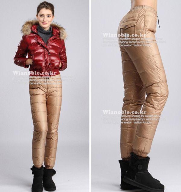 상품 상세보기 : 몽클레어 - [moncler] 몽클레어 오리털 패딩팬츠 22412 여성용 8색상 택1