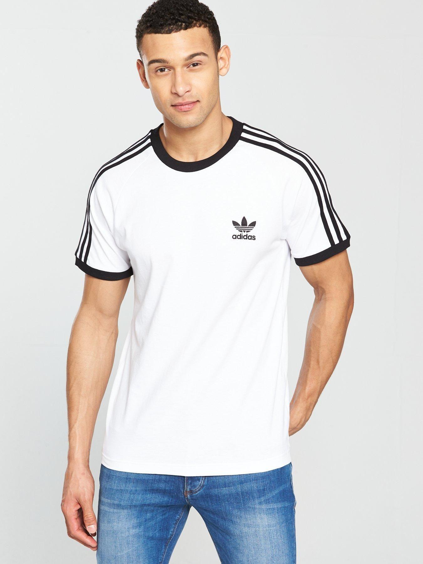 Men Adidas Originals T Shirt Shirt California Shopping